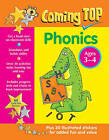 Coming Top: Phonics - Ages 3-4: 60 Gold Star Stickers - Plus 30 Illustrated Stickers for Added Fun and Value by Louisa Somerville (Paperback, 2015)