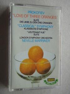 Romantique-Serge-Prokofiev-Love-Of-Three-Oranges-Marriner-Tape-Cassette