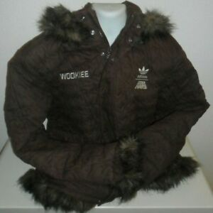 Details about Adidas Star Wars Wookiee Wookie Jacket Parka Chewbacca Limited Edition XL XLarge
