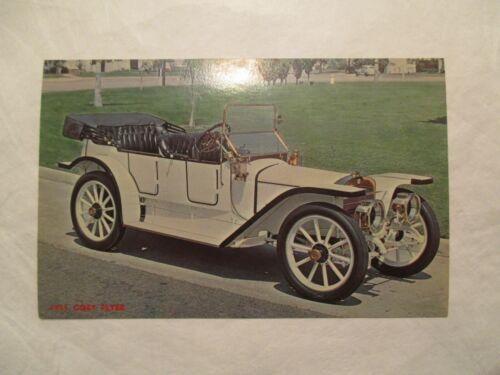 1911-Coey-Flyer-Car-Auto-Automobile-Greetings-Garrison-Minnesota-MN-Postcard