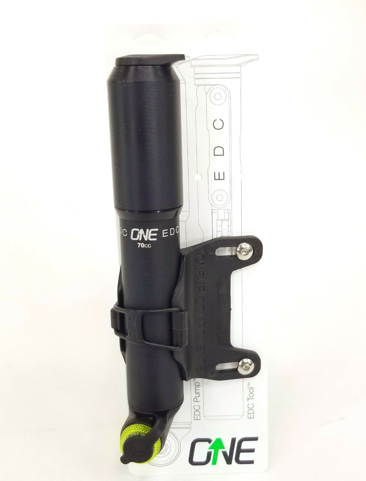 OneUp EDC  Bicycle Mini Pump with Frame Mount  70% off cheap