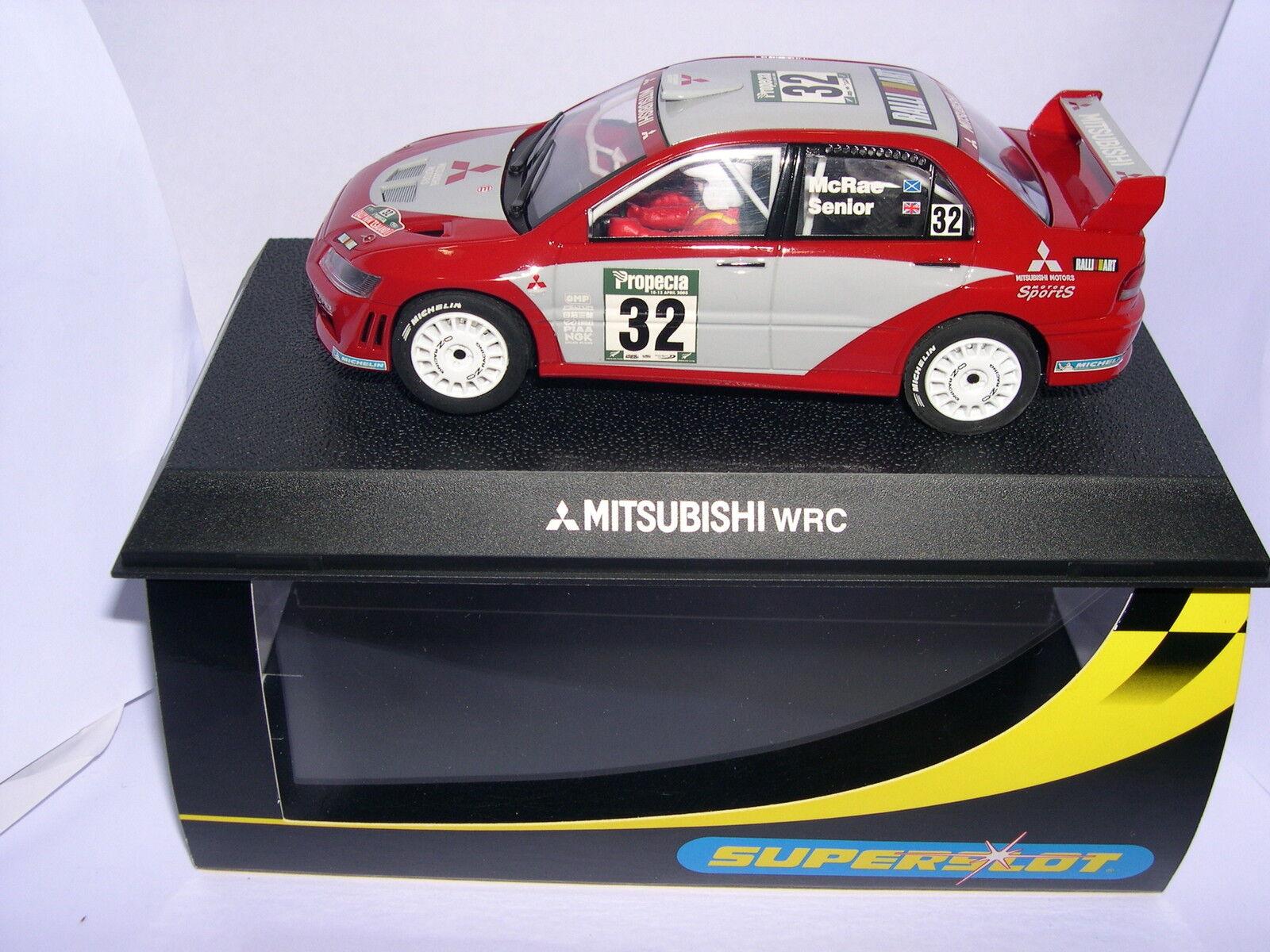 Superslot H2494 Mitsubishi Lancer WRC McCrae Senior Scalcextric Ru MB