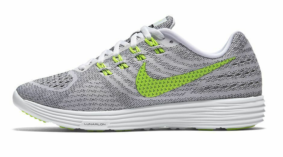 NEW Women's Nike LunarTempo 2 CP Running Shoes in White/Volt/Black - Size 7.5
