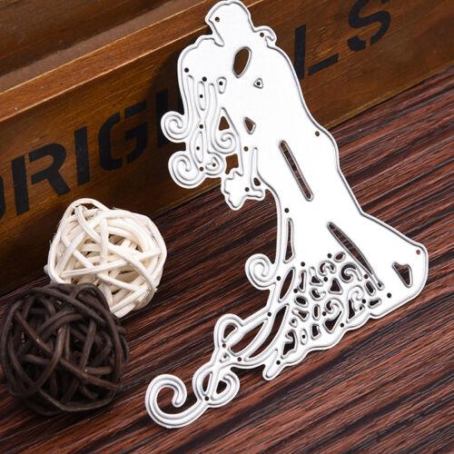 Wedding Dies Metal Cutting Stencil For Scrapbooking Paper Cards Gift Decor DIY