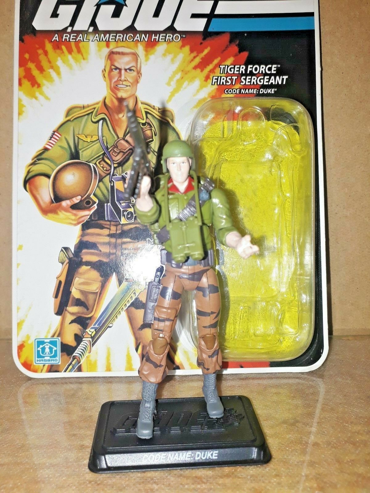 GI JOE 25TH ANNIVERSARY DUKE TIGER FORCE (v.28) blister abierto