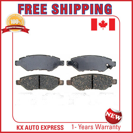 REAR CERAMIC BRAKE PADS FOR CADILLAC CTS 2008 2009 2010 2011 2012 2013 2014