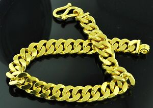 Usa 8 Inches 24k 9999 Solid Yellow Gold