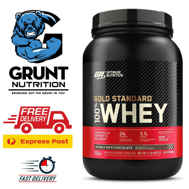 Optimum Nutrition Gold Standard 100% Whey 2lb with Free Shaker