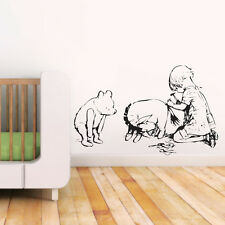 Winnie the Pooh Sketch Effect Wall Decal, Sticker, Vinyl, Mural, Art, Transfer