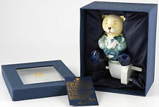 "Teddy Bear nightlight by Old Tupton Ware. ""January"". Ceramic bear.  New. Boxed."