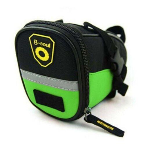 Zipper Closure Oxford Cloth Quick Release Bags Tail Pouch Bike Saddle Bag UK