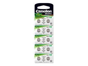 10 Stück Knopfzellen Uhrenbatterien Knopf Zellen Camelion Ag8 Lr55 Lr1121 L1121