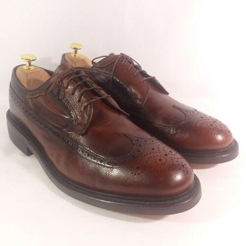 Stuart McGuire Longwing Wingtip Derby Shoes Mens 1