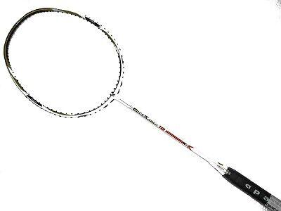 Grip Apacs EdgeSaber 10 White 4U Badminton Racket Racquet Free Stringing