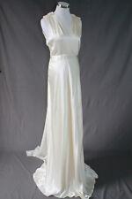 NEW J.CREW ROSABELLE WEDDING GOWN 14 49876 IVORY BRIDAL ELEGANT SILK DRESS $1500