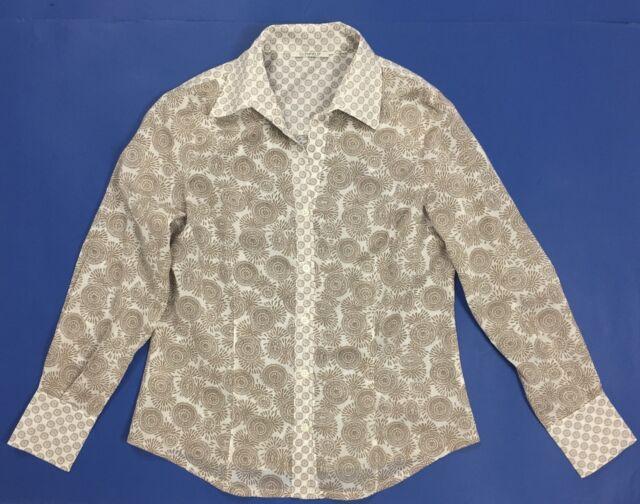 Glenfield camicia donna estiva corta S usato top camicetta leggera maglia T861