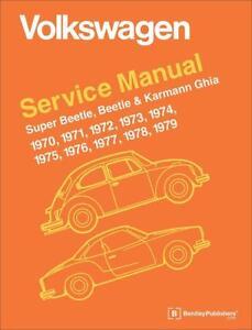 vw volkswagen beetle karmann ghia owners service repair manual rh ebay co uk 1974 volkswagen super beetle repair manual 1974 volkswagen super beetle repair manual