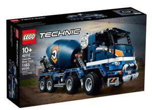 LEGO-Technic-Concrete-Mixer-Truck-42112-BNISB-AU-Seller