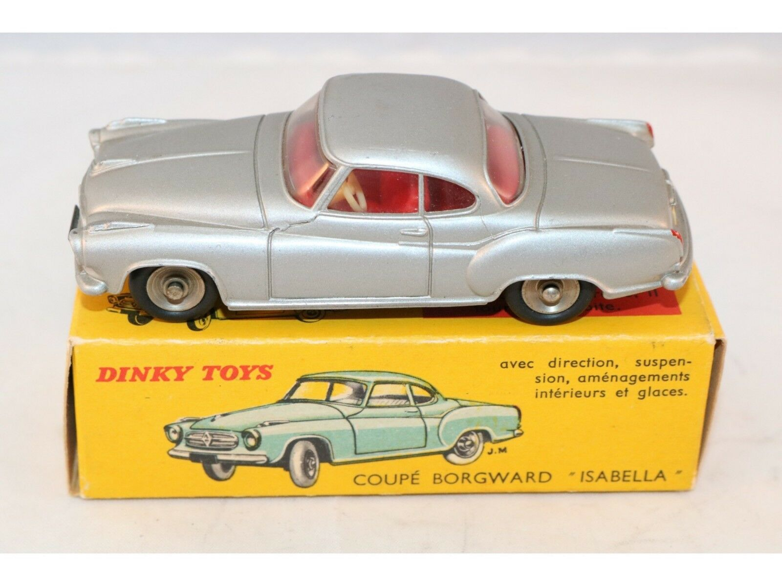 Dinky Toys 549 Isabella Borgward very very near mint in box