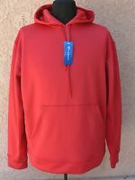 Champion Mens Hoodie Fleece Pullover Long Sleeve Sweatshirt Scarlet Sz. Xxl
