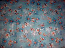 tissu d'ameublement vintage, épais, larg 150 cm x H 240 cm à saisir !