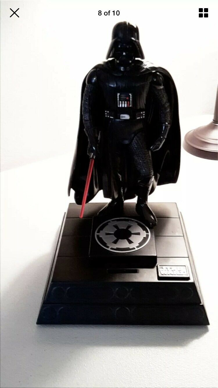 Star Wars Darth Vader Vintage 1996 Talking Moving Light Up Bank