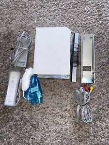 Nintendo Wii Gaming Console Sensor +Cords