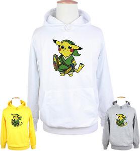 Image is loading Mens-Womens-Cute-Pikachu-Link-Pokemon-Zelda-PikaLink- 70ccc4fef