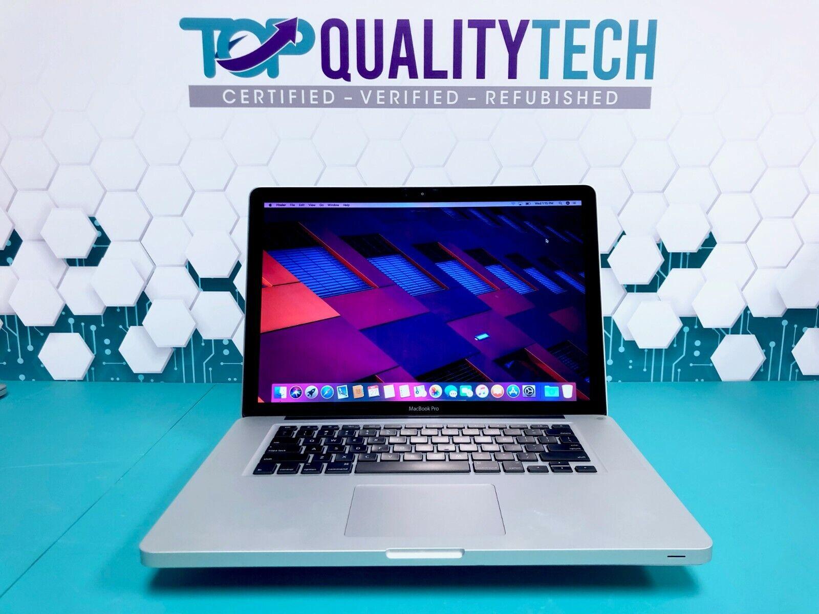 Apple MacBook Pro 15 inch Laptop / INTEL CORE i7 / 500GB / OSX-2015 / Warranty. Buy it now for 579.00