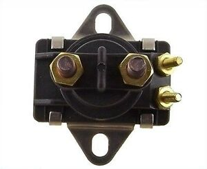 Trim Solenoid Relay Switch For Mercury Mercruiser Marine 12V 4 Terminal 35-150HP