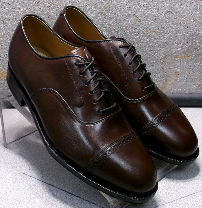 2408564 ES50 Men's shoes Size 7 M Brown Leather Lace Up Johnston & Murphy