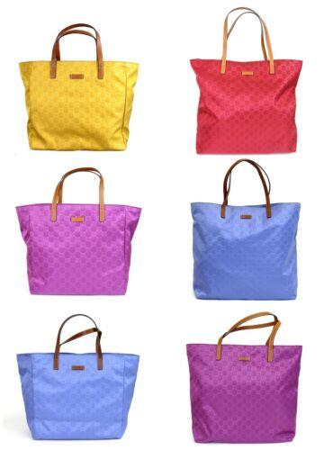 Gucci Nylon Tote Handbag