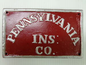 PENNSYLVANIA-INS-MUTUAL-LIVE-STOCK-CO-OF-PITTSBURGH-FIRE-INSURANCE-MARK-SIGN
