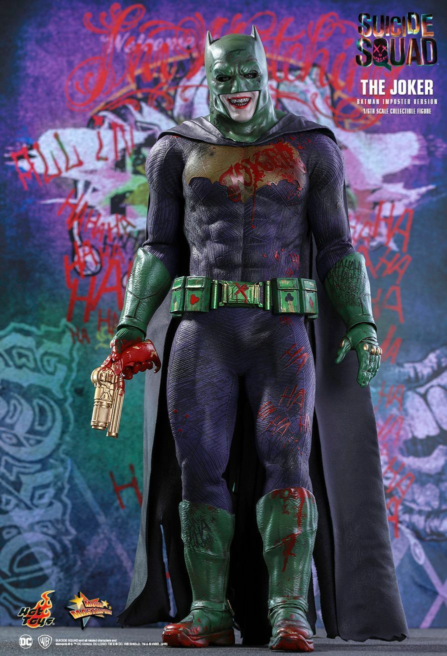 SUICIDE SQUAD - The Joker 1/6th Scale 'Imposter' Action Figure MMS384 (Hot Toys)