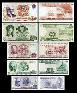 Norvège - 2x  500 - 1.000 Kroner - Edition 1962 - 1987 - Reproduction - 03