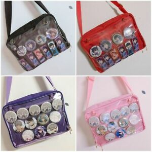 Details About Anese Kawaii Itabag Transpa Messenger Bag Shoulder Handbag Sling