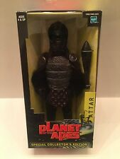 "2001 HASBRO PLANET OF THE APES 12"" ATTAR GORILLA LARGE ACTION FIGURE SEALED NEW"