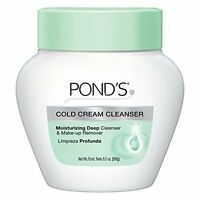 2 Pack Ponds Cold Cream Moisturizing Deep Cleanser & Make Up Remover 9.5oz Each