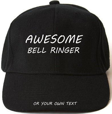 Fantastico Bell Suoneria Personalizzata Berretto Da Baseball Cappello Regalo Di Natale Carillonneur- Ampie Varietà