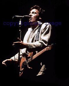 Bruce Springsteen 1980 The River Tour Color 8x10 U Ebay