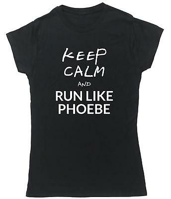 Hippowarehouse Keep calm and run like phoebe Badge Pin