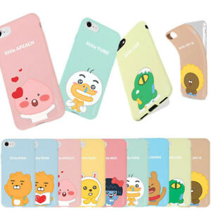 Kakao-Little-Friends-Soft-Jelly-Case-for-Apple-iPhone-XS-Max-XR-X-8-8-Plus-7-6