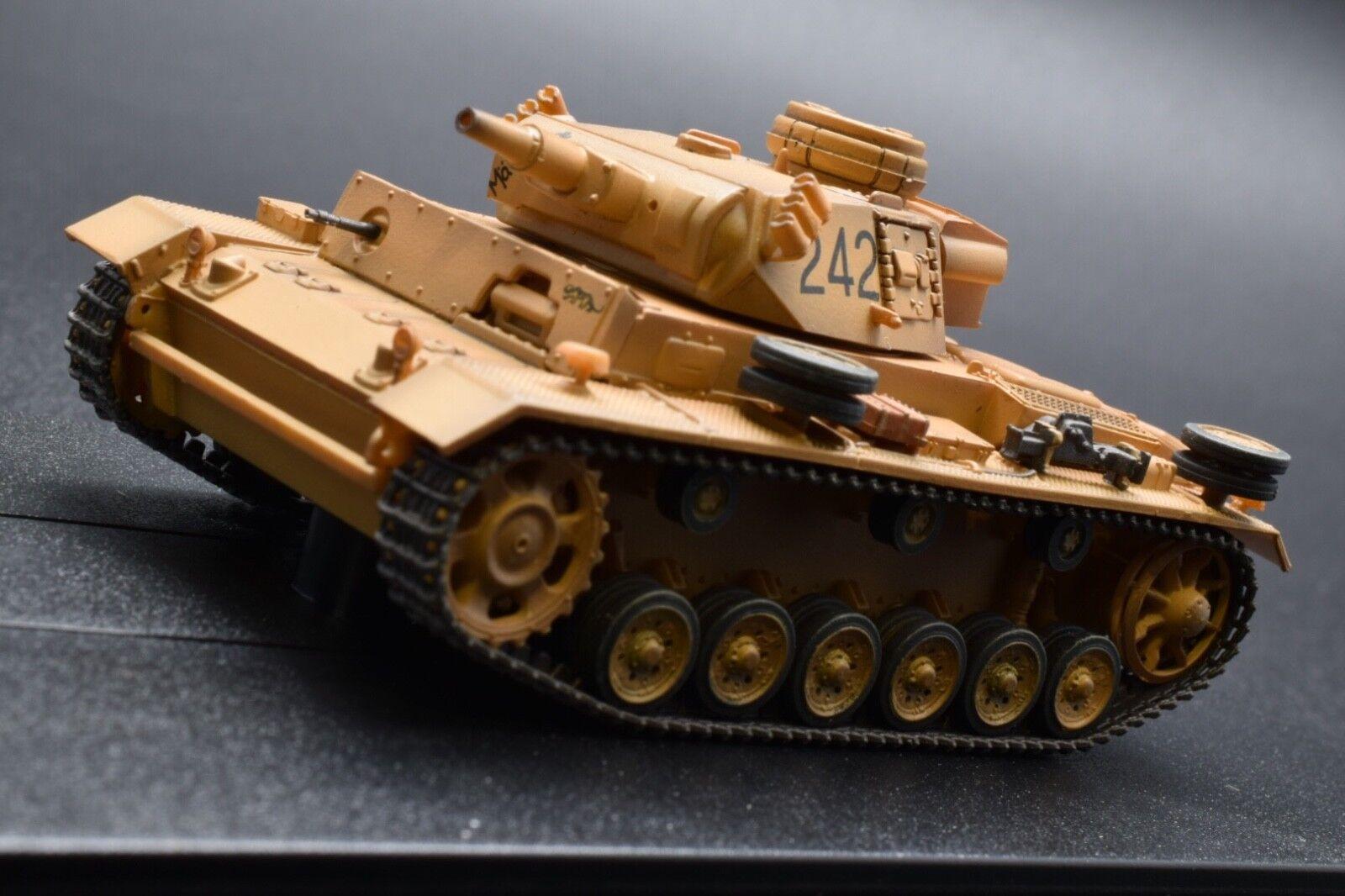 DRAGON ARMOR DR 60603 Pzkpfw. III Ausf.N Tunisia (1943) 1 72 SCALE BRAND NEW