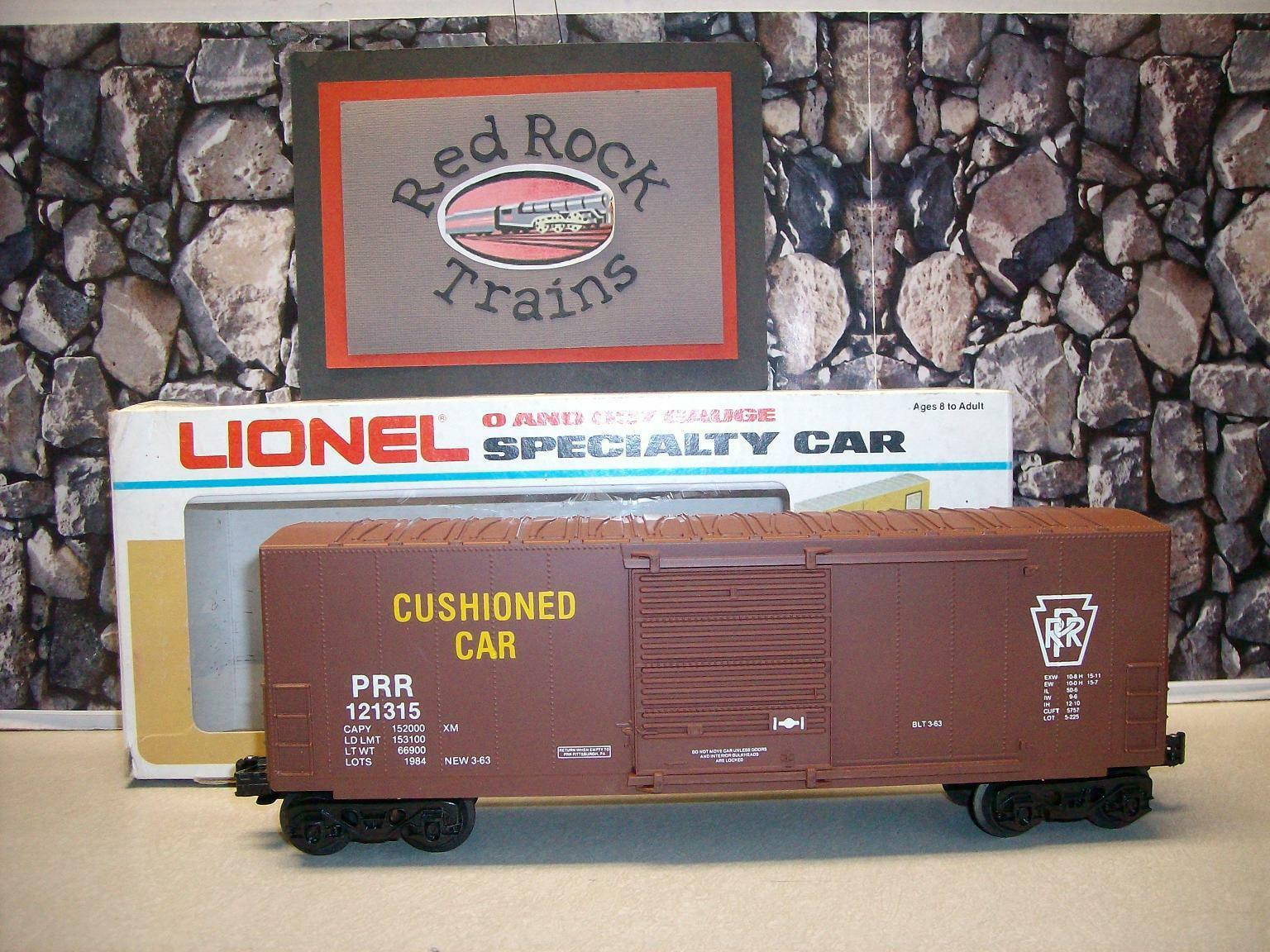 Lionel  121315 LOTS PRR Hi-Cube Boxcar - Hard to Find
