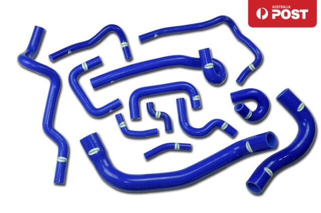 Silicone Radiator Hose Kit for Nissan Skyline ECR33 R33 GTS-25T RB25DET Blue
