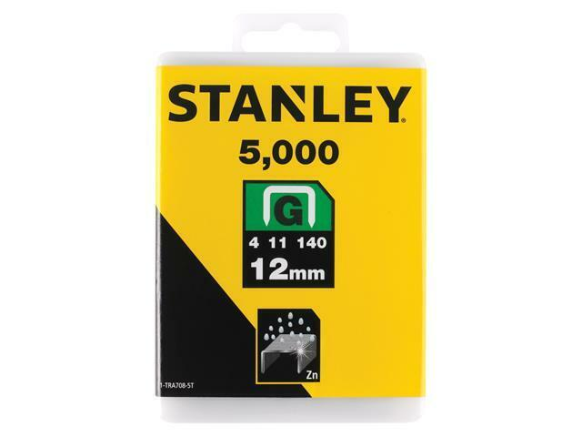 Stanley Tools TRA7 Heavy-Duty Staple 12 mm TRA708-5T Pack 5000 STA1TRA7085T