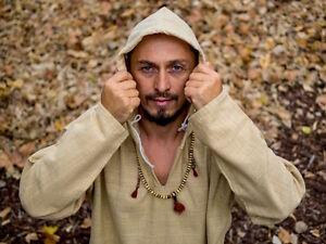 100 Uomo Canapa Da Felpa Con Vestiti Giacca Maglione Camicia Cappuccio RvnvWB