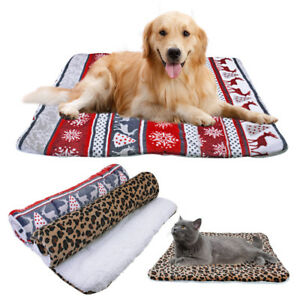 Prime Details About Christmas Elk Fleece Winter Dog Blanket Cushion Cat Puppy Pet Bed Mat Sofa Cover Ocoug Best Dining Table And Chair Ideas Images Ocougorg