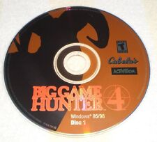 Cabela's Big Game Hunter 4 WINDOWS 95/98 PC- CDROM