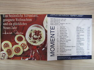 CD / ZIPFLO WEINRICH -MOMENTE / AUSTRIA / RARITÄT /  GIPSY-JAZZ / 1997 /
